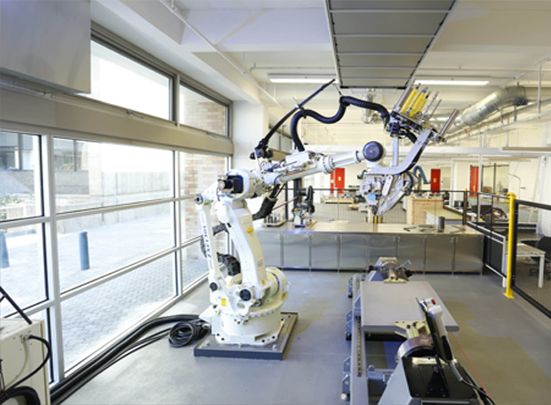 ARC training center for automated manufacture of advanced composites
